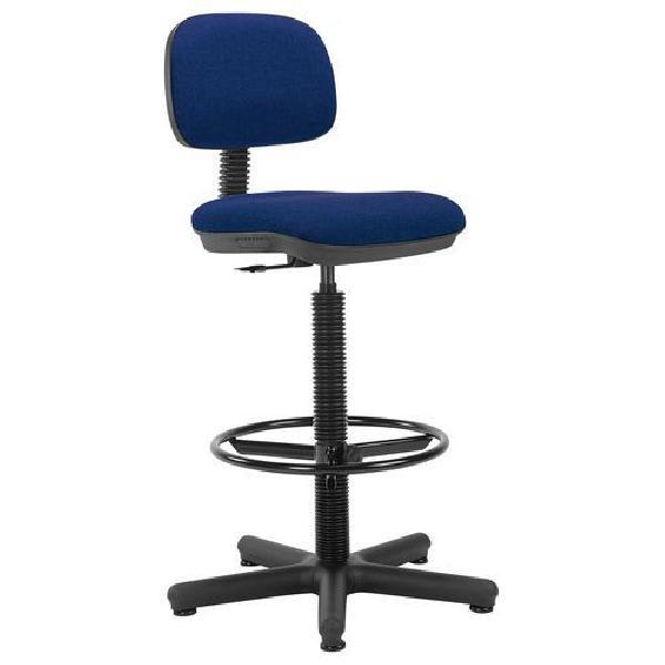 Pracovní židle Senior s kluzáky, modrá (MB-1026180)