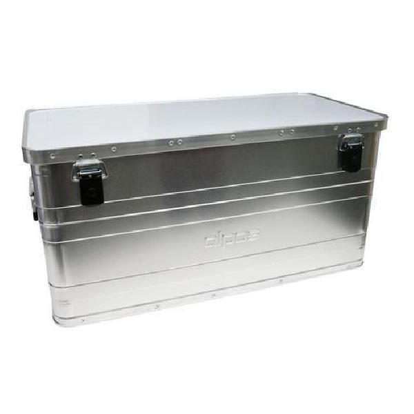 Hliníkový přepravní box, plech 0,8 mm, 90 l (MB-570049)