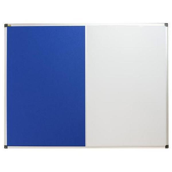 Textilní a magnetická tabule Bi-Office, 90 x 120 cm (MB-880032)