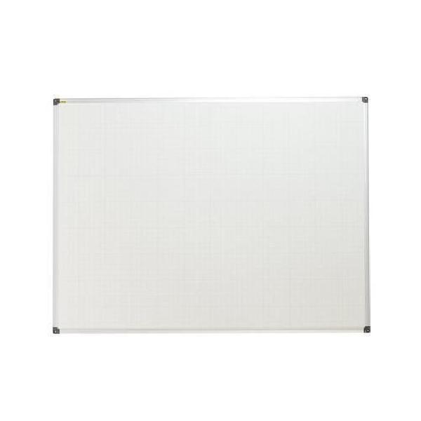 Bílá magnetická tabule Bi-Office s rastrem, 90 x 120 cm (MB-880014)