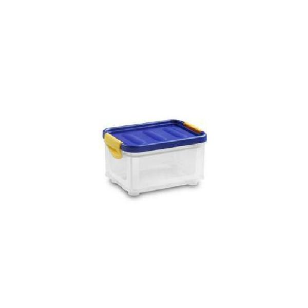Plastový úložný box s víkem na klip, 5,5 l (MB-813185)