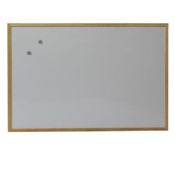 Fotografie Bílá magnetická tabule Acacia, 600 x 900 mm (MB-015047)