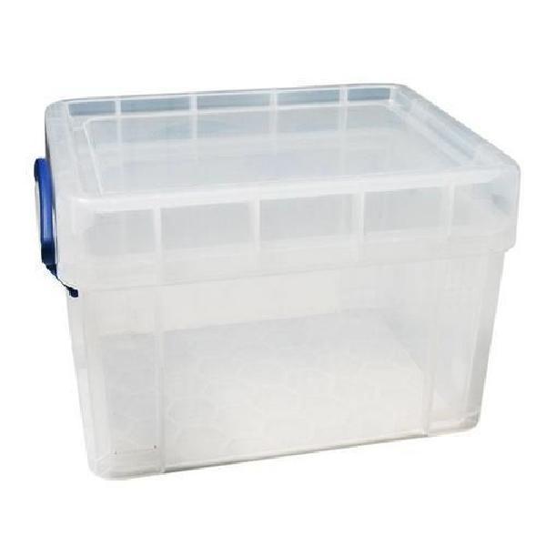 Plastový úložný box s víkem na klip, průhledný, 3 l (MB-932300)