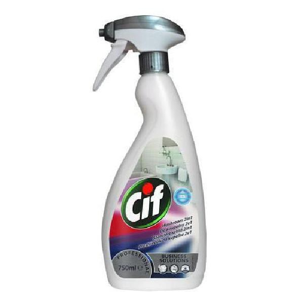 Cif Professional 2v1 na koupelny, 750 ml, 6 ks (MB-1165004)