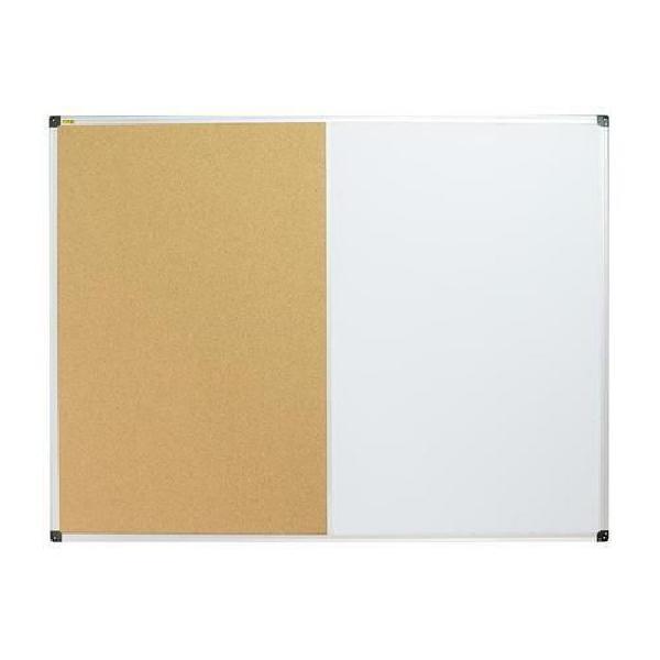 Korková a magnetická tabule Bi-Office, 90 x 120 cm (MB-880030)