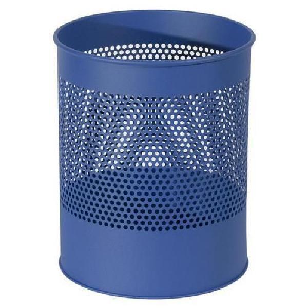 Kovový odpadkový koš Gap, objem 15 l, modrý (MB-973016)