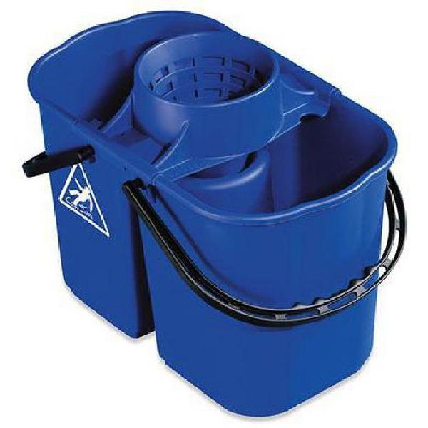 Plastový kbelík se ždímačem, 8 plus 6 l (MB-316071)