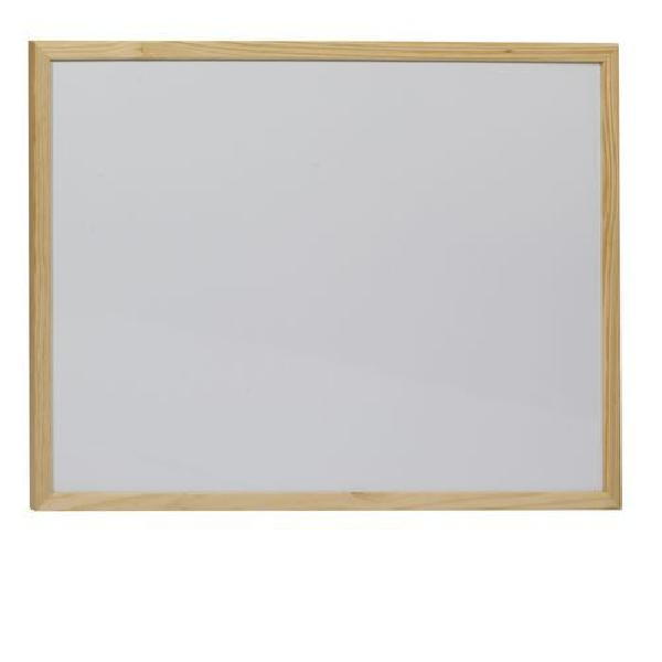 Bílá magnetická tabule Acacia, 450 x 600 mm (MB-015046)