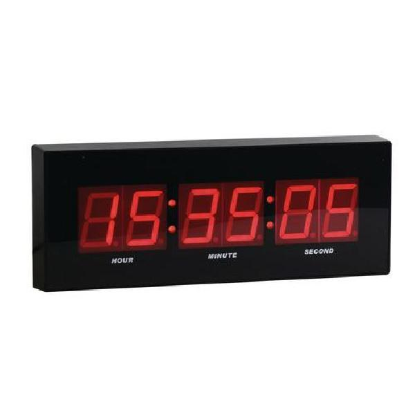LED digitální hodiny DG2 Manutan, šířka 31 cm (MB-150265)