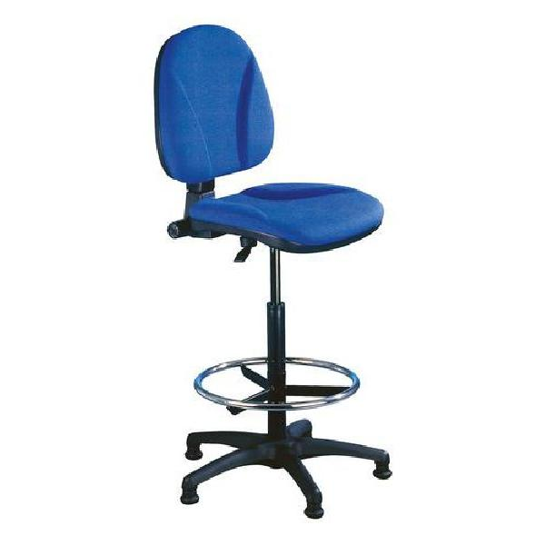 Pracovní židle Ergo s kluzáky, modrá (MB-207055)
