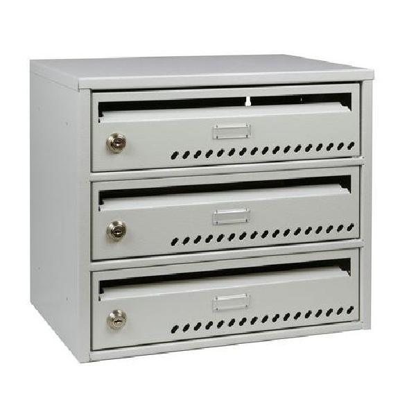 Modulová kovová poštovní schránka TG, 3 boxy (MB-415131)