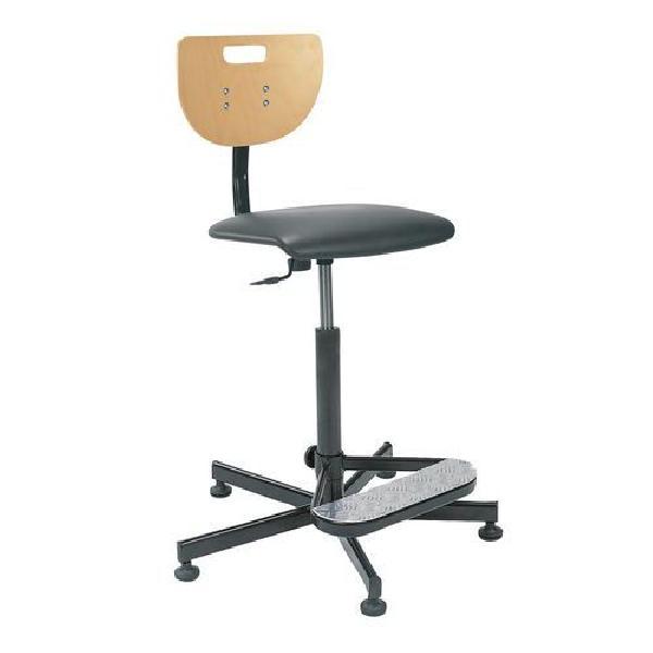 Zvýšená pracovní židle Werek Plus s kluzáky (MB-1026178)