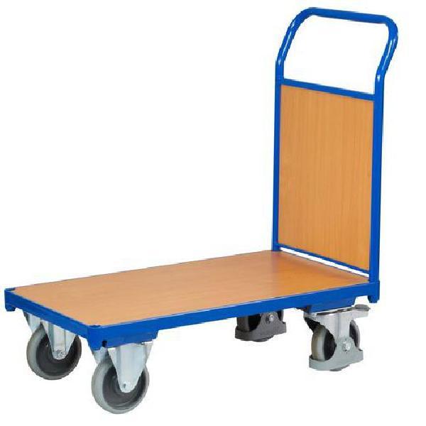 Plošinový vozík s madlem s plnou výplní, do 400 kg (MB-1065040)