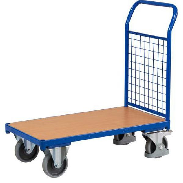 Plošinový vozík s madlem s mřížovou výplní, do 400 kg (MB-1065043)