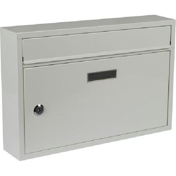 Kovová poštovní schránka Cerusit, bílá (MB-1123031)