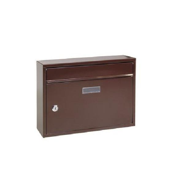 Kovová poštovní schránka Cerusit, hnědá (MB-1123032)
