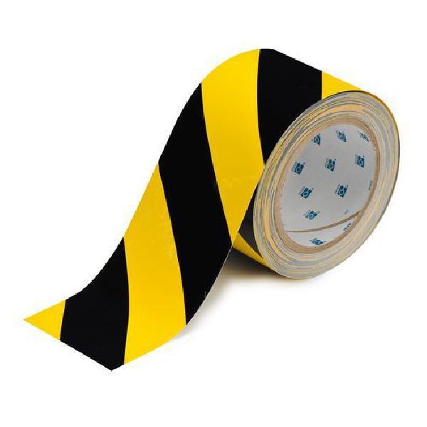 Podlahová páska Brady ToughStripe, černá/žlutá (MB-892146)