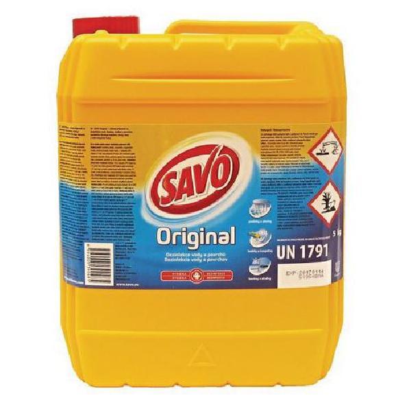 Dezinfekční prostředek Savo Original, 5 l (MB-1165022)
