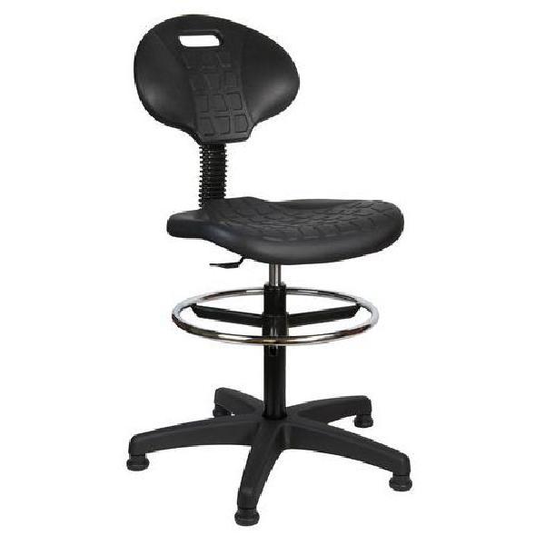 Zvýšená pracovní židle s kluzáky (MB-1650800)