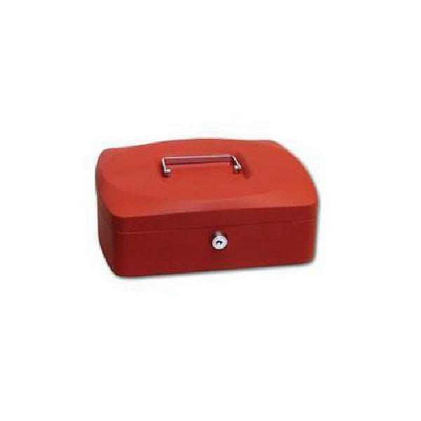 Přenosná pokladna, červená, 9 x 25,5 x 20 cm (MB-1123105)