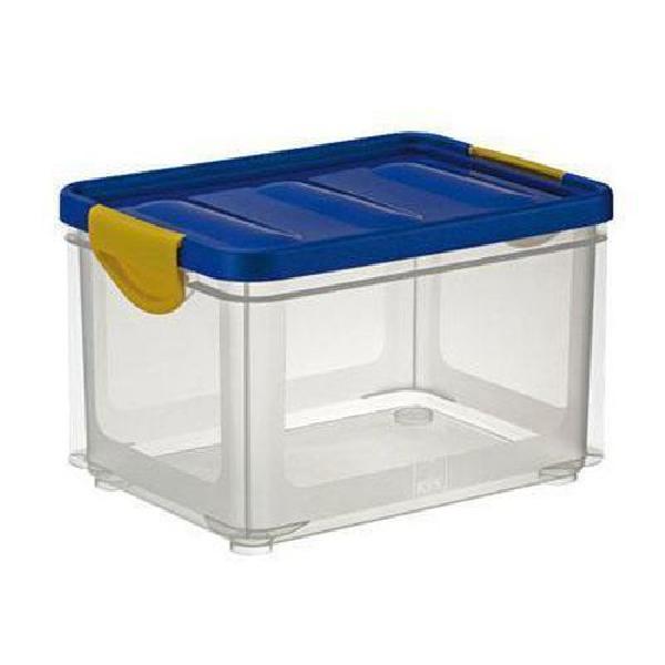 Plastový úložný box s víkem na klip, 32,5 l (MB-813132)
