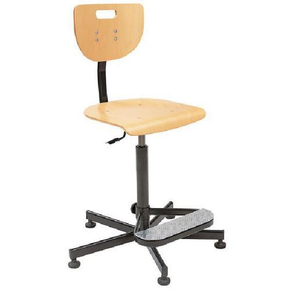 Pracovní židle Werek s kluzáky (MB-1026176)