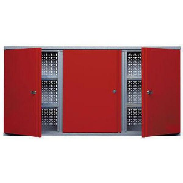 Fotografie Závěsná skříňka na nářadí, 60 x 120 x 19 cm (MB-303028)