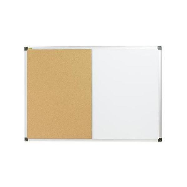 Korková a magnetická tabule Bi-Office, 60 x 90 cm (MB-880029)