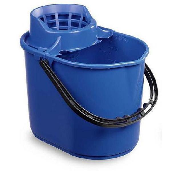 Plastový kbelík se ždímačem, 12 l (MB-316028)
