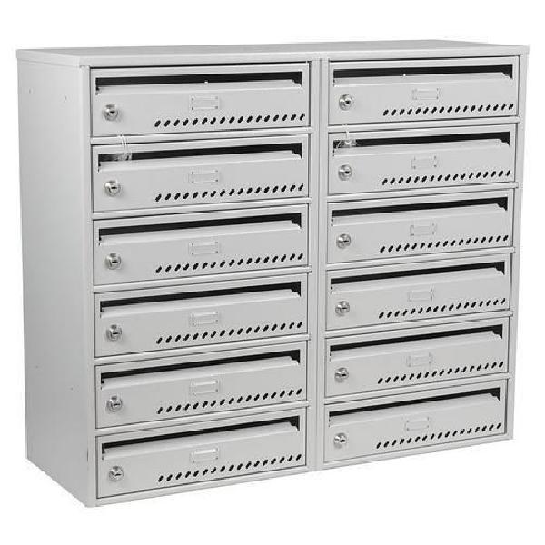 Modulová kovová poštovní schránka TG, 12 boxů (MB-415137)