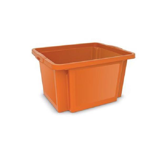 Plastová přepravka, oranžová (MB-813184)