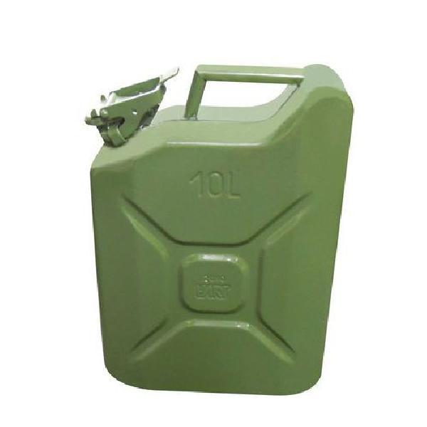 Plechový kanystr, zelený, 10 l (MB-827268)