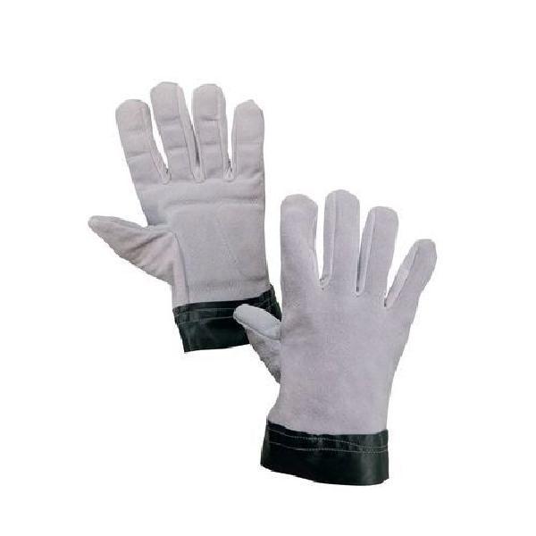 Antivibrační kožené rukavice CXS, šedé/černé (MB-875019)