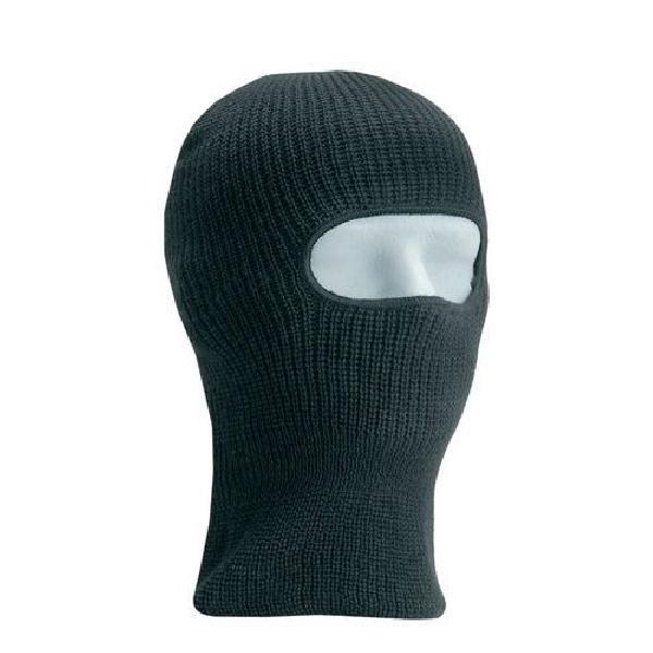 Pletená zimní kukla černá (MB-875853)