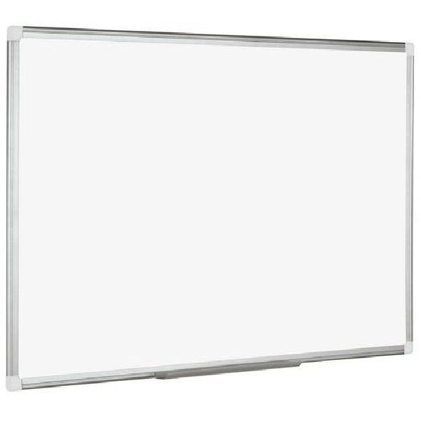 Bílá magnetická tabule Manutan, 60 x 90 cm (MB-1501200)
