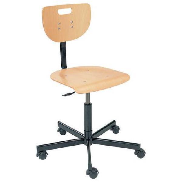 Pracovní židle Werek s tvrdými kolečky (MB-1026175)