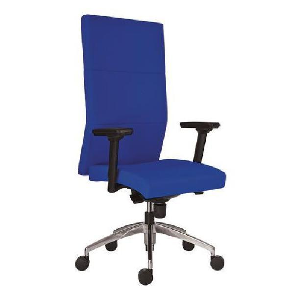 Kancelářské křeslo Vertika, tmavě modré (MB-217451)